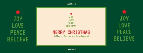 Software Website Christmas Cover