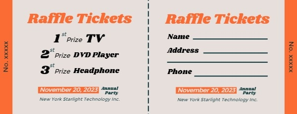Thanksgiving Appliance Sale Raffle