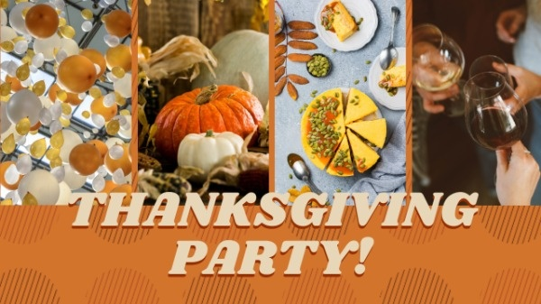 Thanksgiving Party Video Cover