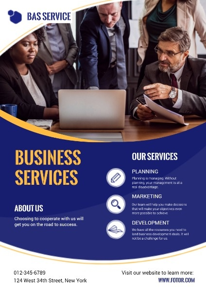Commercial Service Poster