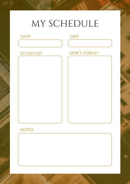 planner maker design personal schedule online fotor