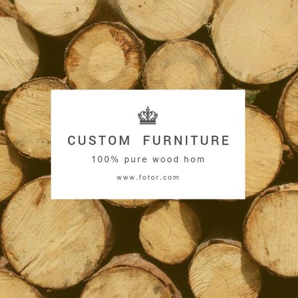Custom Furniture Service
