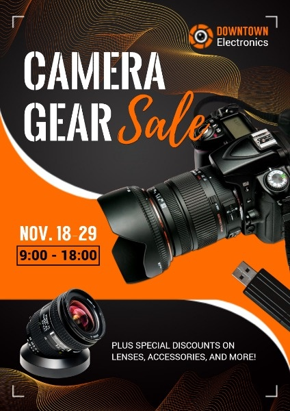 Cool Camera Gear Sale