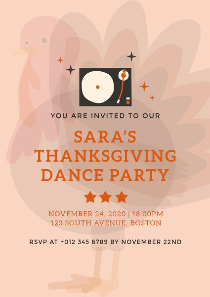 Thanksgiving Dance Party