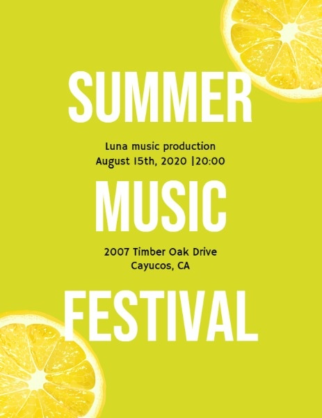 Fresh Summer Music Festival
