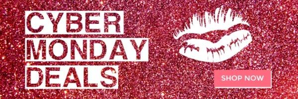 Pink Glitter Cyber Monday Deals