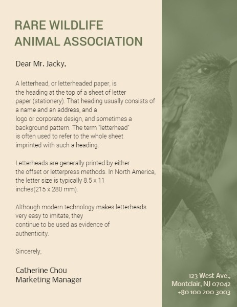 Rare Wildlife Animal Association