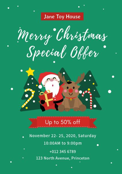 Toy House Christmas Special Offer