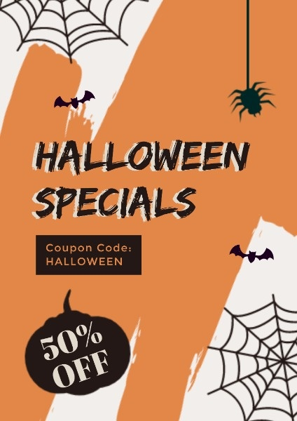 Yellow Halloween Special Discount