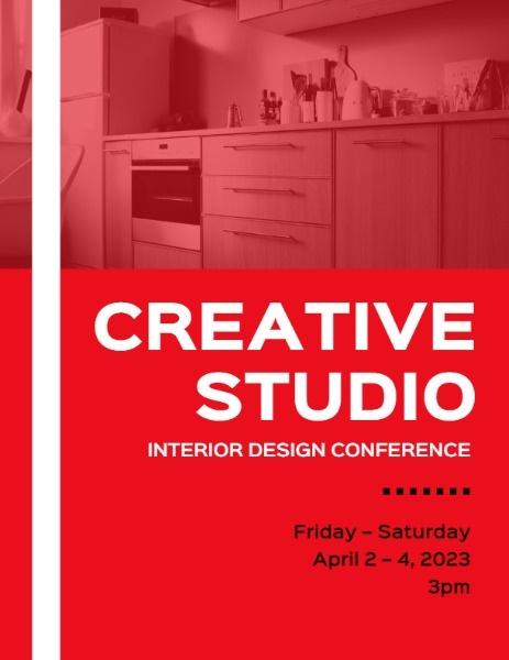 Red Creative Studio Interior Design Conference