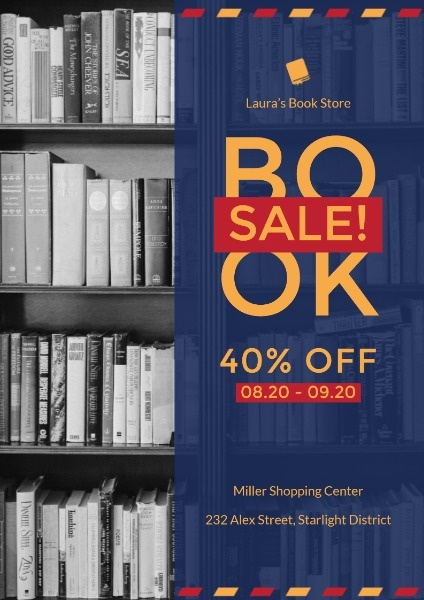 Book Store Back To School Sale