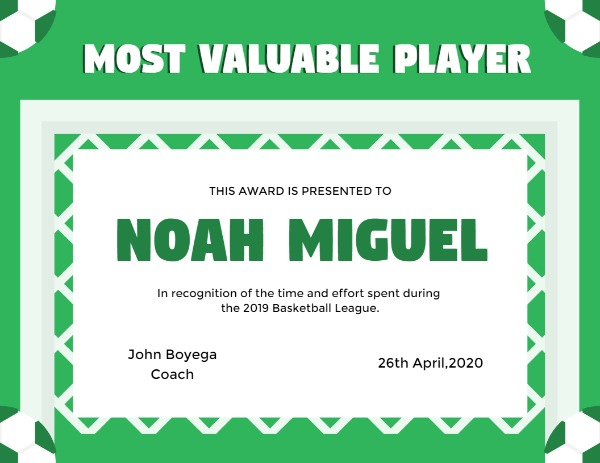 Valuable Player