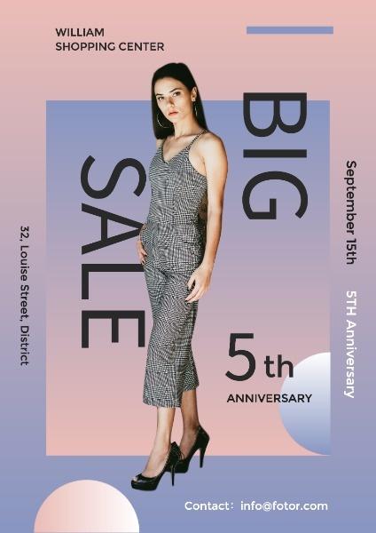 Fashion Clothes Store Big Sale