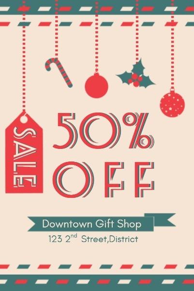 Pink Christmas Gift Sale