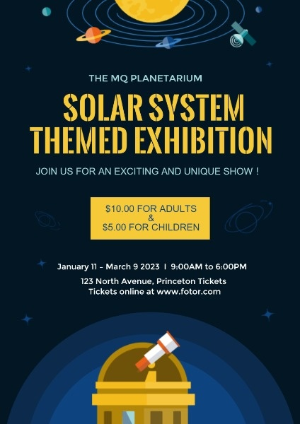 Solar System Exhibition