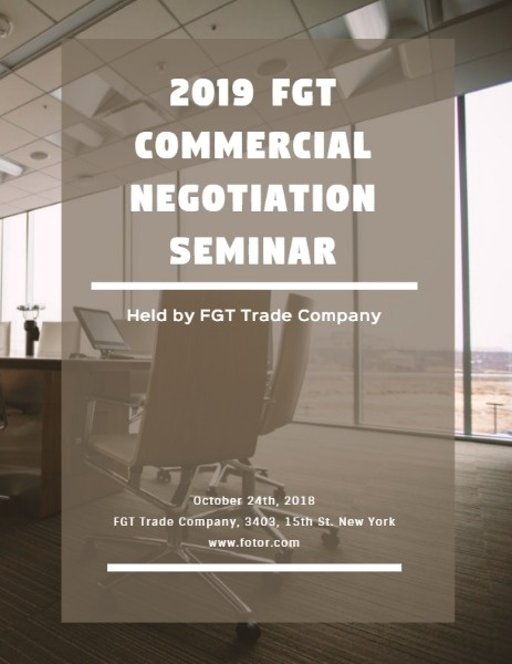Commercial Negotiation Seminar
