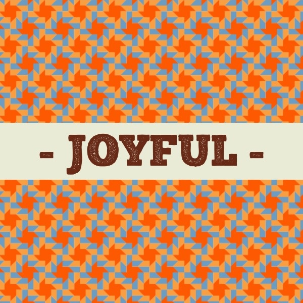Orange Joyful Wallpaper