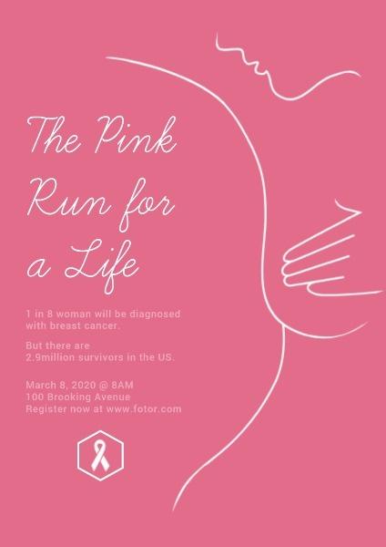 Online Breast Cancer Poster Template Fotor Design Maker