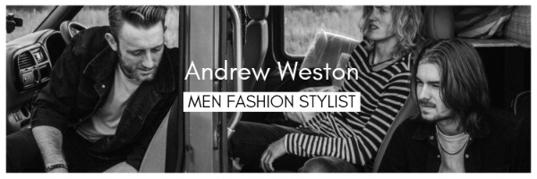 Black And White Men's Fashion Style Banner