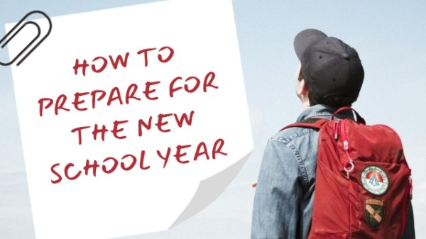 New School Year YouTube Thumbnail Template