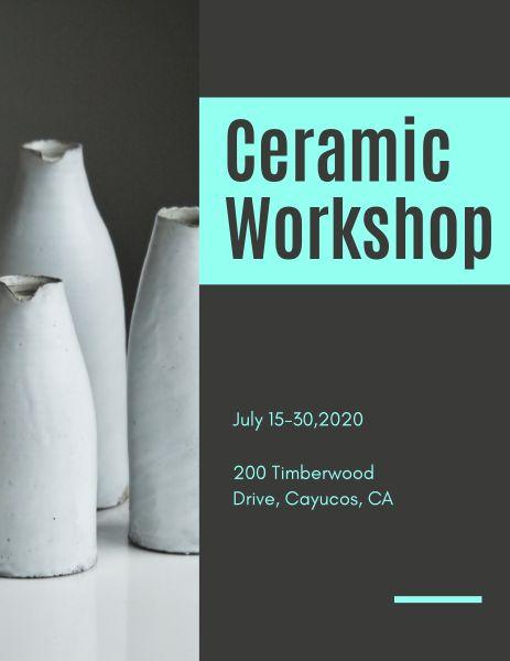 Ceramic Workshop Program
