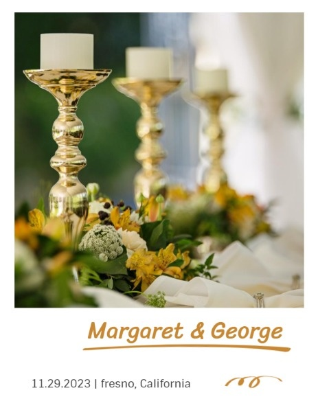 Candlestick Wedding