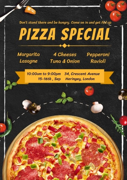 Pizza Special Promotion