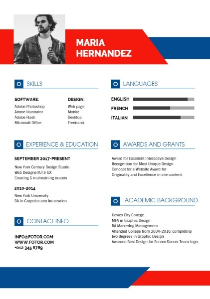Design Studio Simple Resume