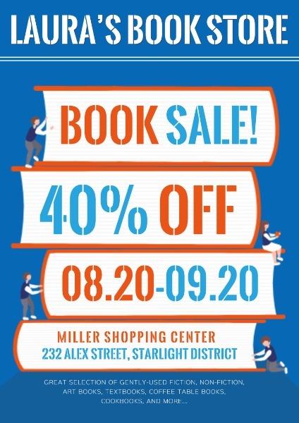 Blue Book Store Sale