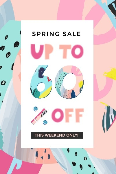 Graffiti Spring Sale