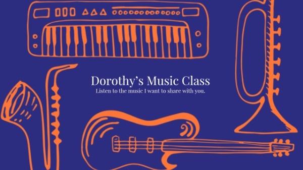 Music Class YouTube Banner