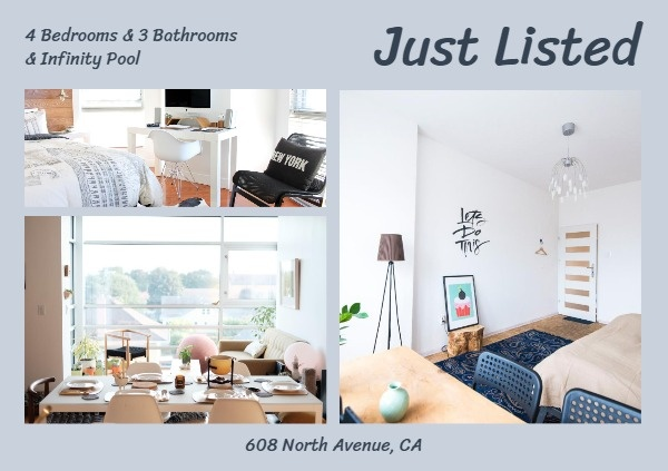 Real Estate Photo Collage