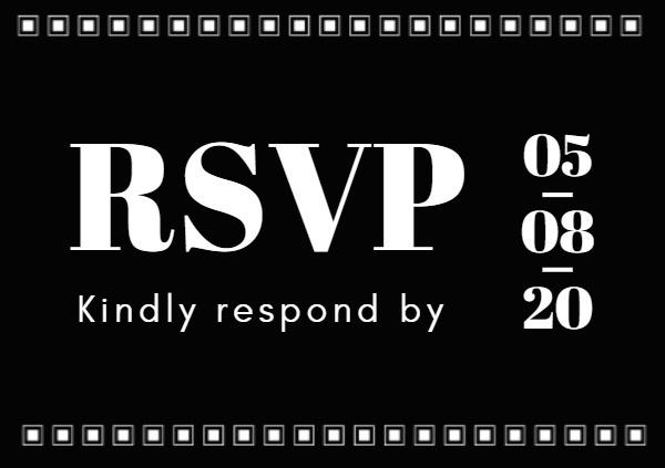 RSVP B&W