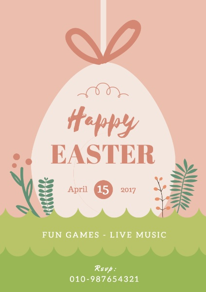 Easter event april 15