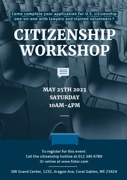 Citizenship Workshop Seminar