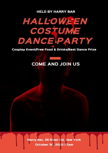 Halloween Costume Dance Party