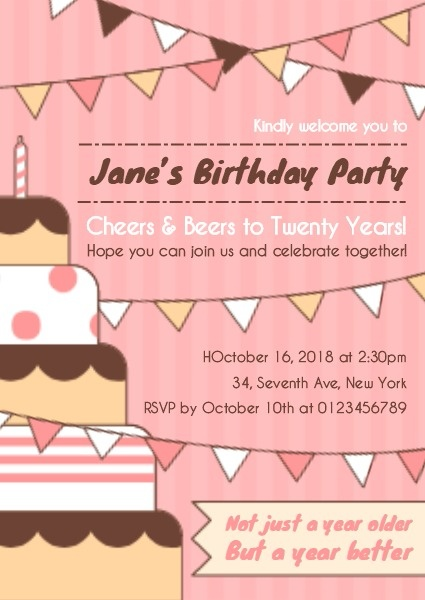make birthday invitation cards online for free