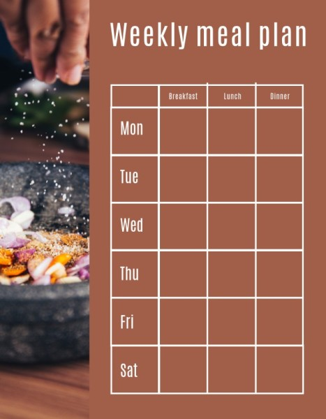 28_ls_膳食计划2_lesson plan