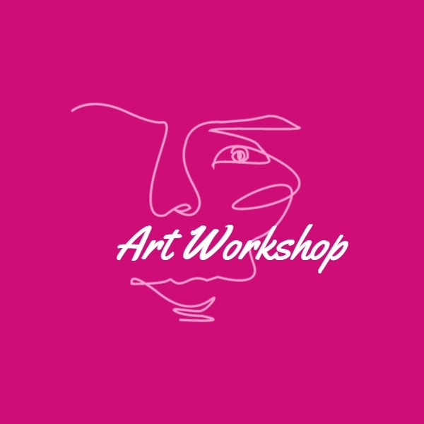 Pink Art Workshop Logo