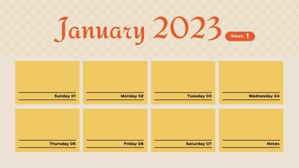 Calendar yellow Texture_Ls_20200403