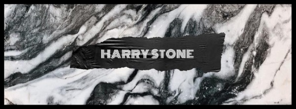 Black And White Stone Pattern Banner