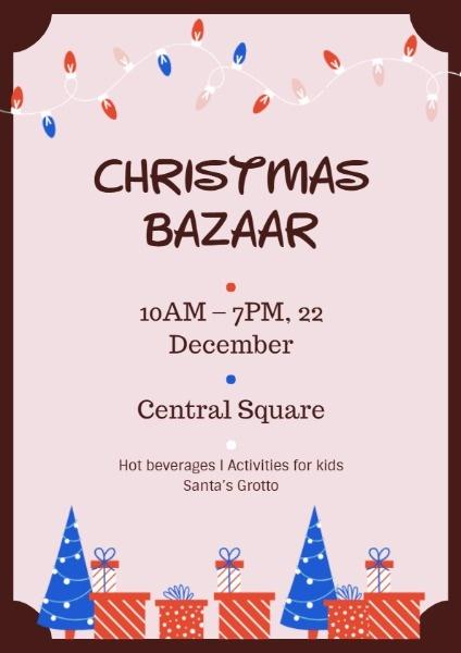 Frame Christmas Bazaar
