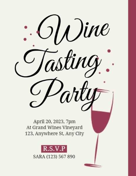 Simple Wine Tasting Party