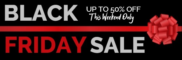 Black Friday Sale Email Promotion