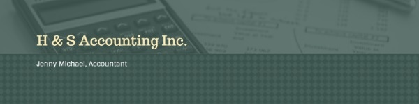 Dark Green Accounting Company
