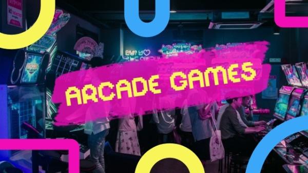 Arcade Games Banner