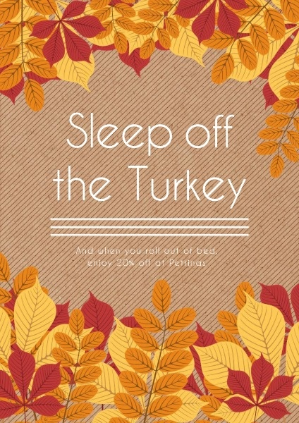 Sleep Off The Turkey