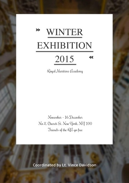 Winter Exhibition