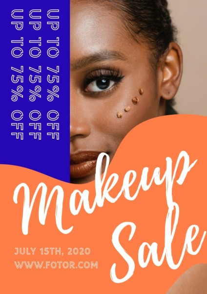 Makeup Sale Flyer