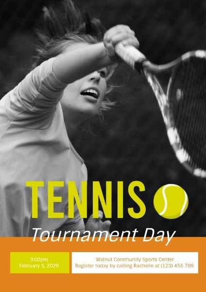 Tennis Tournament Day